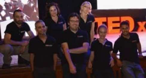 צוות סטודיו cutaway | צילום הרצאות TEDx