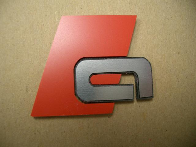 """99-05 Allroad Sport Badges – Front Grille – """"a"""" style"""