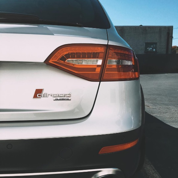B8+ Allroad Sport Badges – Rear (version 2)