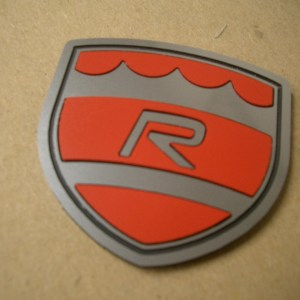 R Shield - Red