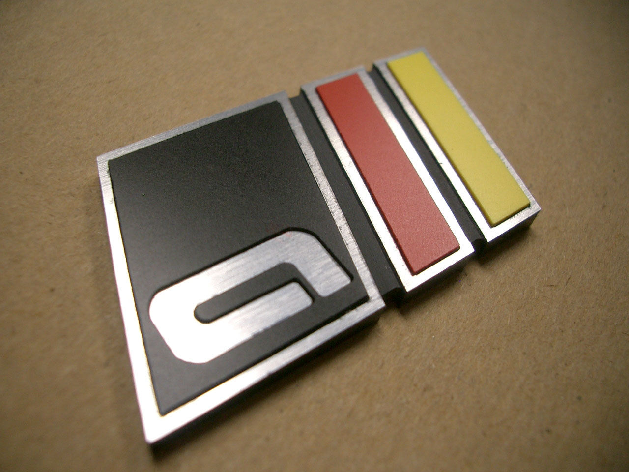 """!satisfied customer! – """"all"""" front grill badge (in style: """"multi"""")"""