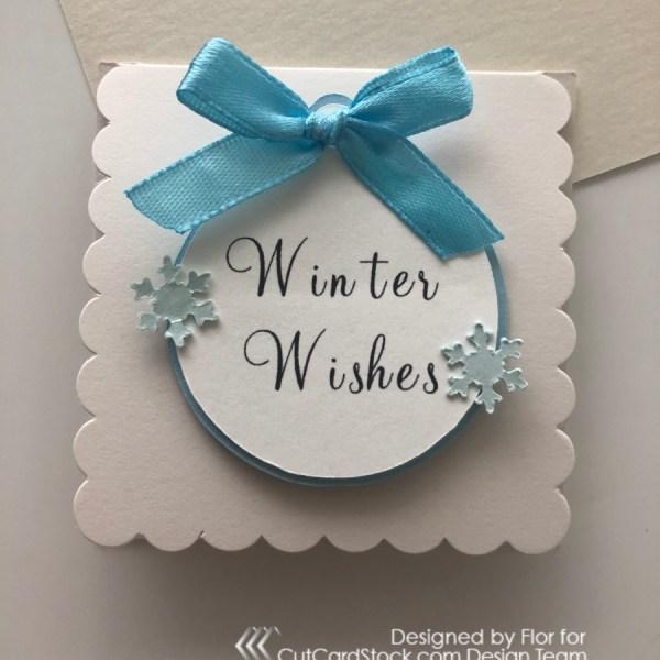 Mini Winter Cards