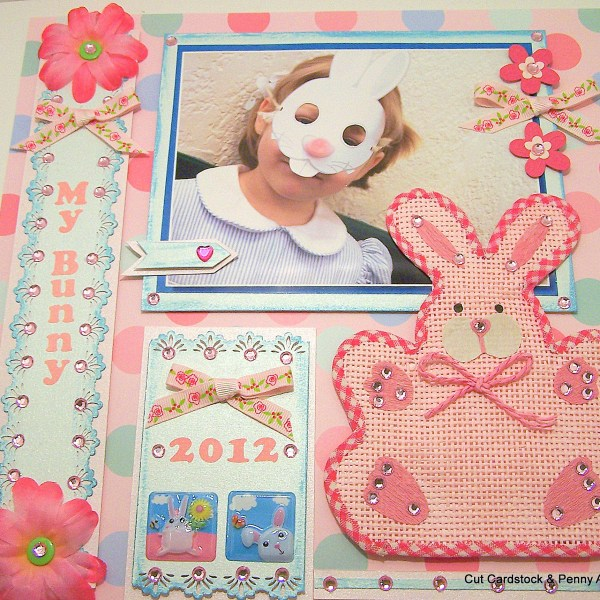 How to Create a Super Cute Easter Bunny Layout