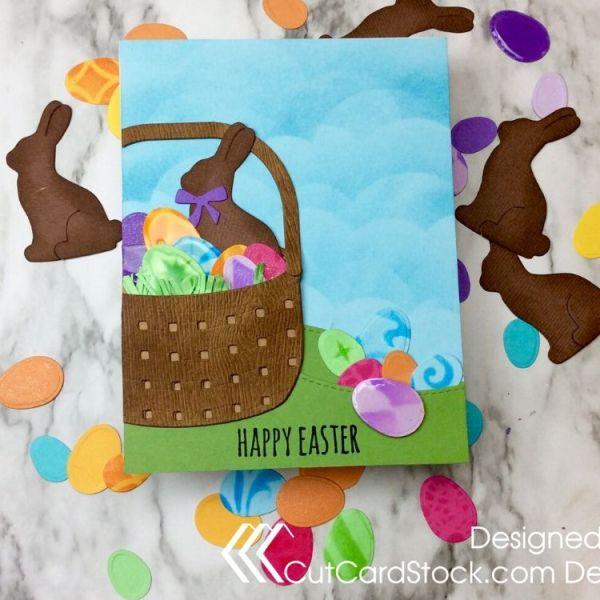 """Eggstra"" Special Basket Card"