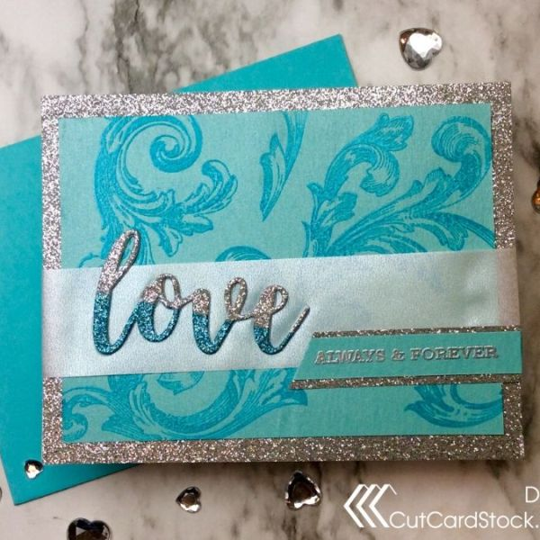 Glitter Love with CutCardStock