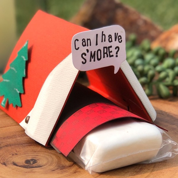 S'more Tent Treat Holder