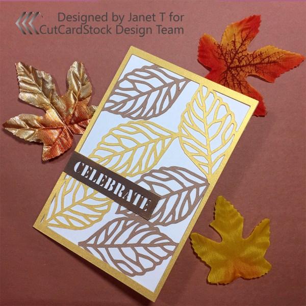 fall celebrate card
