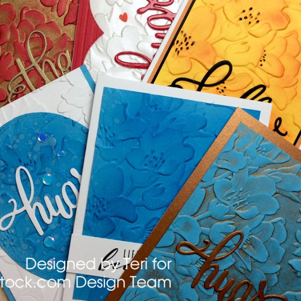 Embossed Card Ideas