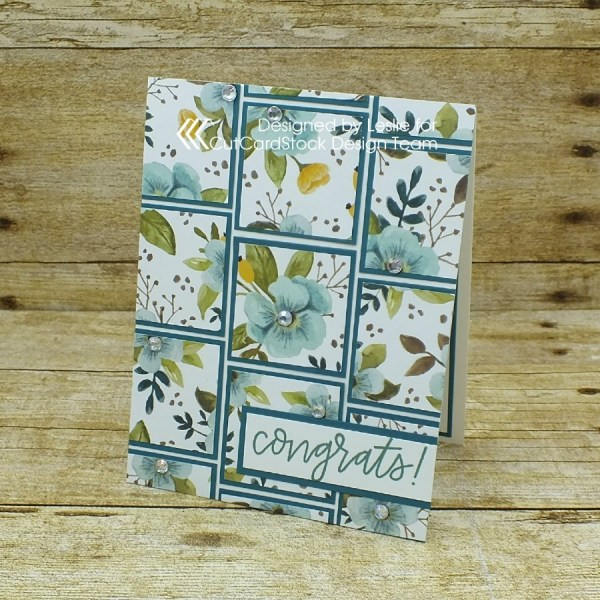 How to create an amazing card that looks like quilt blocks!