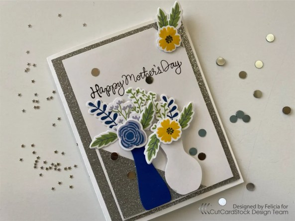 Mother's Day Floral Card!