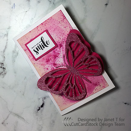 Make a Layered Butterfly Card