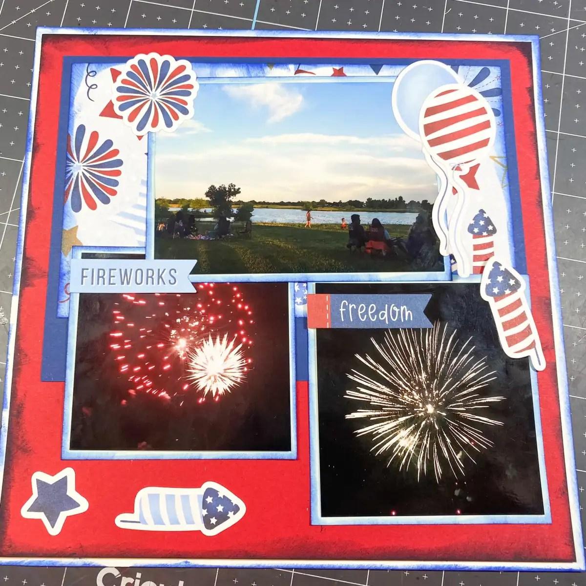 Scrapbook Some Fireworks!
