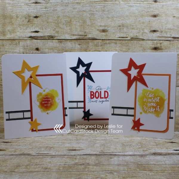 Let's upcycle some inspirational cards into greeting cards!