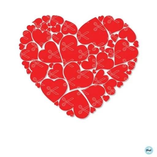 Download Heart - Valentine - Love SVG DXF - High Quality Premium Design