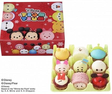 ginza01 min - プチガトー クリスマス <ディズニー ツムツム> コレクション!!銀座コージーコーナさんから販売されます!