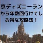 otokutdr min - 東京ディズニーランドに遠方から年数回行けてしまうお得な攻略法!