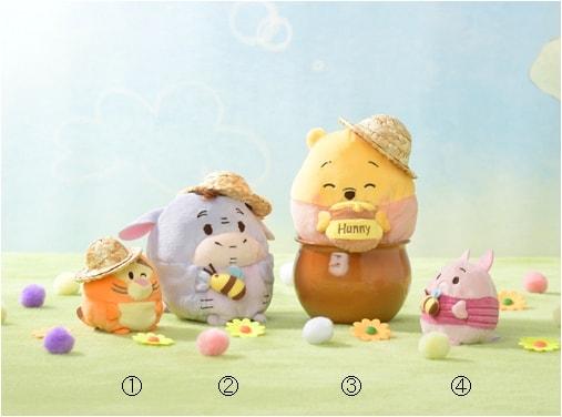 pooh01 min 1 - ディズニー ウフフィ (Disney ufufy)|はちみつの香りのプーさんシリーズ