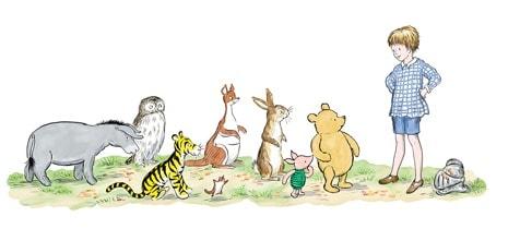 """pooh01 min - 改定版・くまのプーさんの誕生日って?原作誕生90年""""プーさんフェア""""から完全書き下ろし新作発売まで!"""