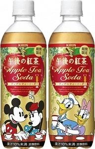 tea03 min - キリン|トロピカーナ100% グレープフルーツ&キウイテイスト ディズニーラベルで登場!