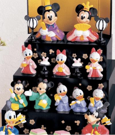hina06 min - 桃の節句には、ディズニー雛人形を飾りたい!!