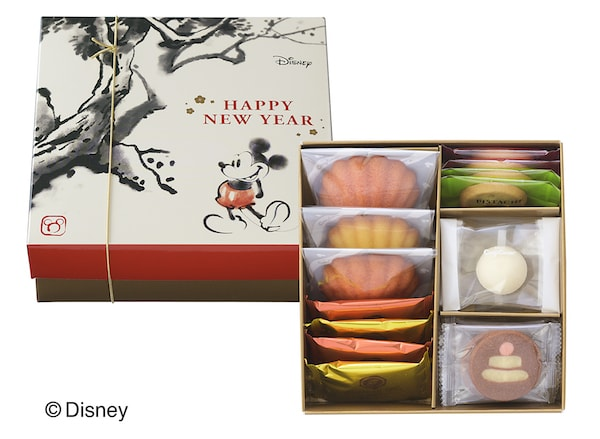 new01 min - 銀座コージーコーナーさんからディズニー・デザインの新春限定スイーツギフトが販売されます!