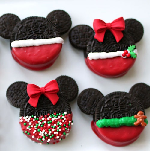 coo13 min - ミッキーマウスとミニーマウスのクッキーがオレオで簡単に作れてしまう 〜 レシピご紹介!!