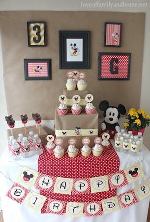 dparty01 min - 子供の誕生日パーティー 〜 料理メニューからデザインまでディズニーテーマで楽しむも素敵