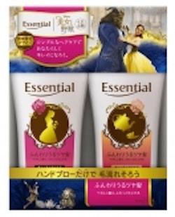 esse04 min - 花王 エッセンシャルから 美女と野獣の限定ボトル発売 〜 癒しのバスタイムを!!