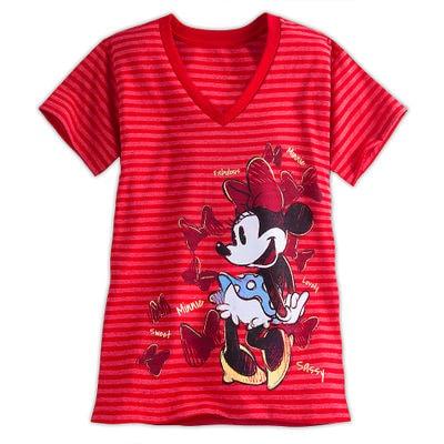 minnie t08 min - Tシャツを楽しむ 〜 ミッキー&ミニー Tシャツ25点 大集合!!