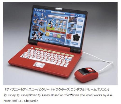 wp01 min - ディズニー&ディズニーピクサーキャラクターズ ワンダフルパソコンシリーズ 子供のパソコンについて考える!