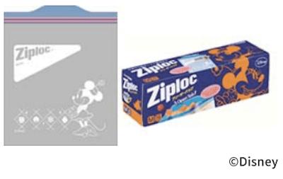 zip02 min - ジップロック ディズニーデザインシリーズ  〜 2018「春」登場!!