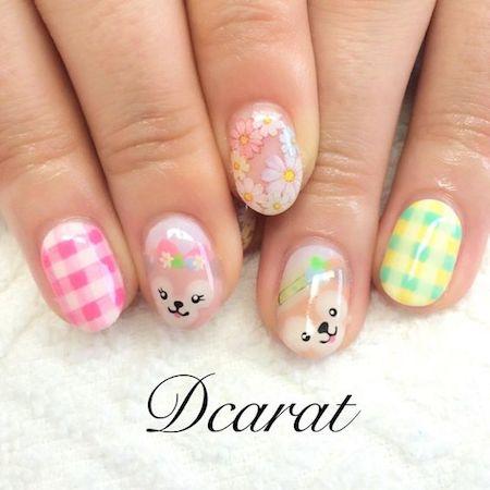 d nail01 min - 春のディズニーネイルを楽しもう 〜 ネイルカラーをプリンセスで揃えたい!!