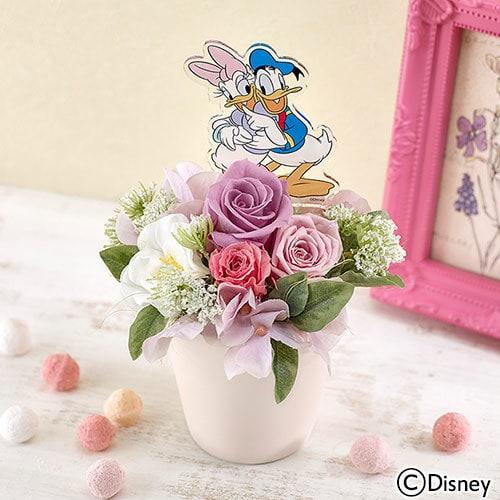 mother flower02 min - 母の日の贈り物は ディズニー フラワーギフト !!|日比谷花壇さんのお花アレンジが素敵❤︎