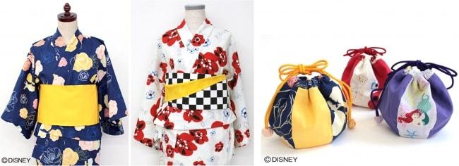 kizi02 min - 子供の甚平 浴衣が簡単にできる?!〜 ディズニーデザイン生地で作っちゃおう