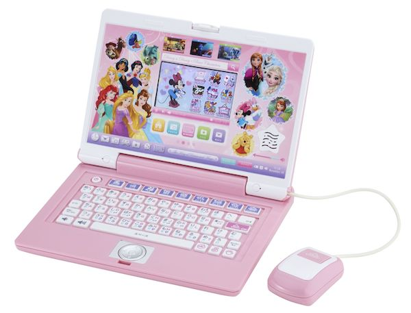 sweet01 min - ディズニー&ディズニーピクサーキャラクターズ ワンダフルパソコンシリーズ|子供のパソコンについて考える!