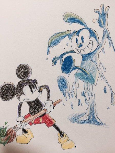 ira03 , ディズニーの手描きイラストがかわいすぎて才能を感じる 〜 才能が
