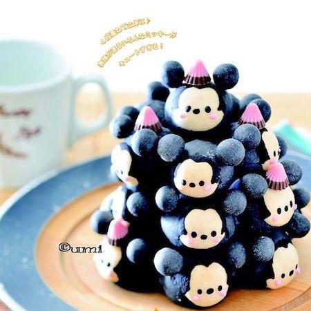 tigiri08 min - ディズニーでクリスマスの食卓を楽しみたい 〜 かわいいディズニーちぎりパン