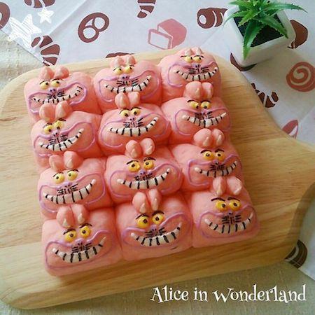 tigiri09 min - ディズニーでクリスマスの食卓を楽しみたい 〜 かわいいディズニーちぎりパン