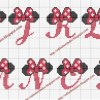 cros021 min - ディズニーツムツム 図案14点 〜 アイロンビーズ アクアビーズの無料図案から作り方まで