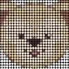 du010 min - 「ダッフィー」ビーズ図案アイデア 〜 アイロンビーズ デリカビーズ アクアビーズ、全アイテム作りたい!!