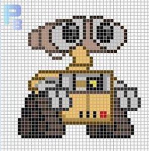 pi01 min 296x300 - アイロンビーズで作る「ディズニー/ピクサー」キャラクター〜無料図案31選!!