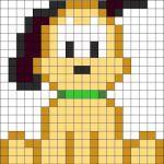 sikaku06 min - 【アイロンビーズ無料図案】四角いプレートを利用してディズニーキャラクターを作ろう!!〜フレンズからプリンセスまで
