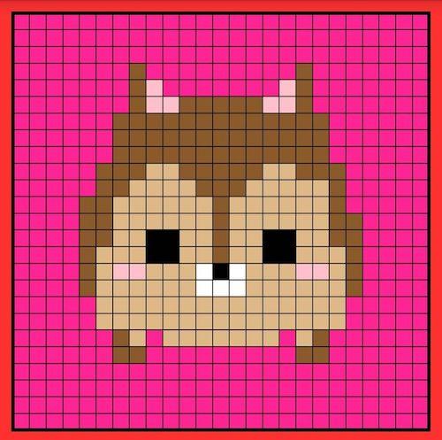 tuika08 min - 【アイロンビーズ無料図案】四角いプレートを利用してディズニーキャラクターを作ろう!!〜フレンズからプリンセスまで【15点追加】