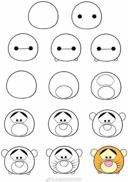 illu04 min - ツムツムのイラストを簡単に描きたい!~無料図案の活用がおすすめ