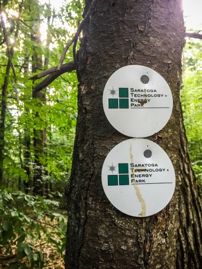 Cute trail markers!