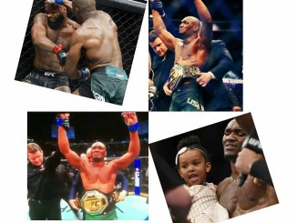 Usman becomes the first African-born UFC Champion