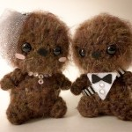 Star Wars Wookie Wedding Amigurumi 2