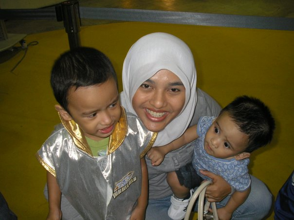 Mimi and sons