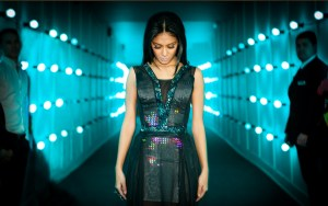 Twitter Dress worn by Nicole Scherzinger