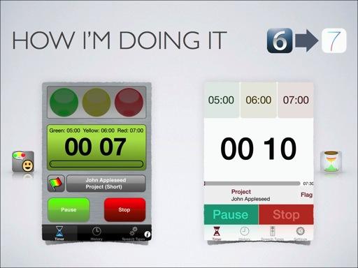 Speech timer ios 7